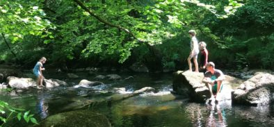 wild swimming dartmoor