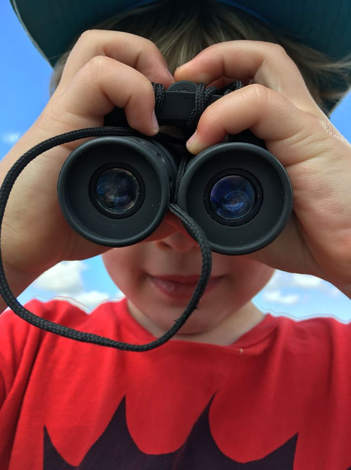 family friendly outdoor activities - I spy you