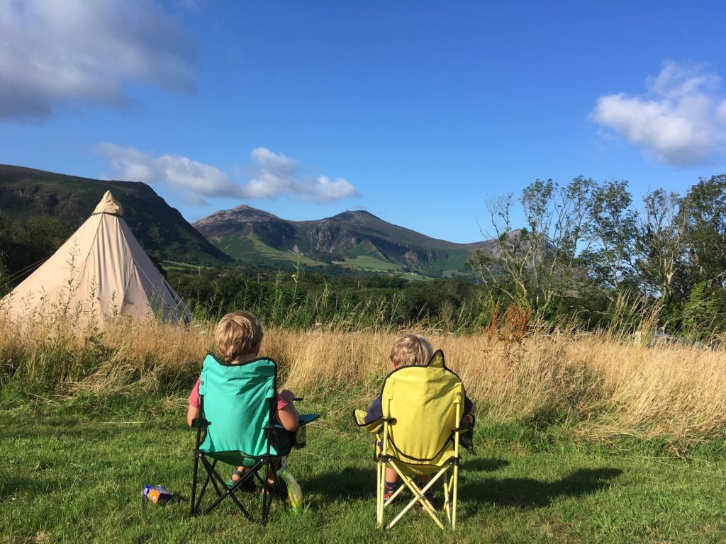 camping in the south west and wales