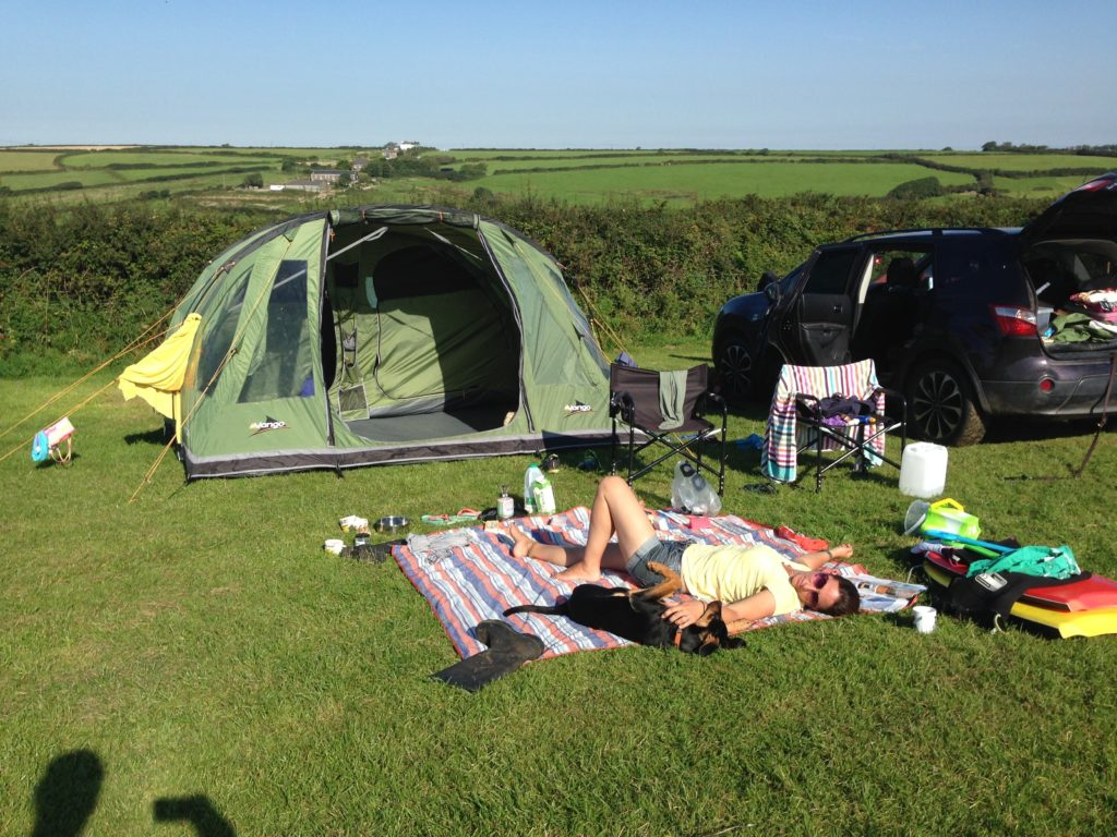 best campsites in cornwall