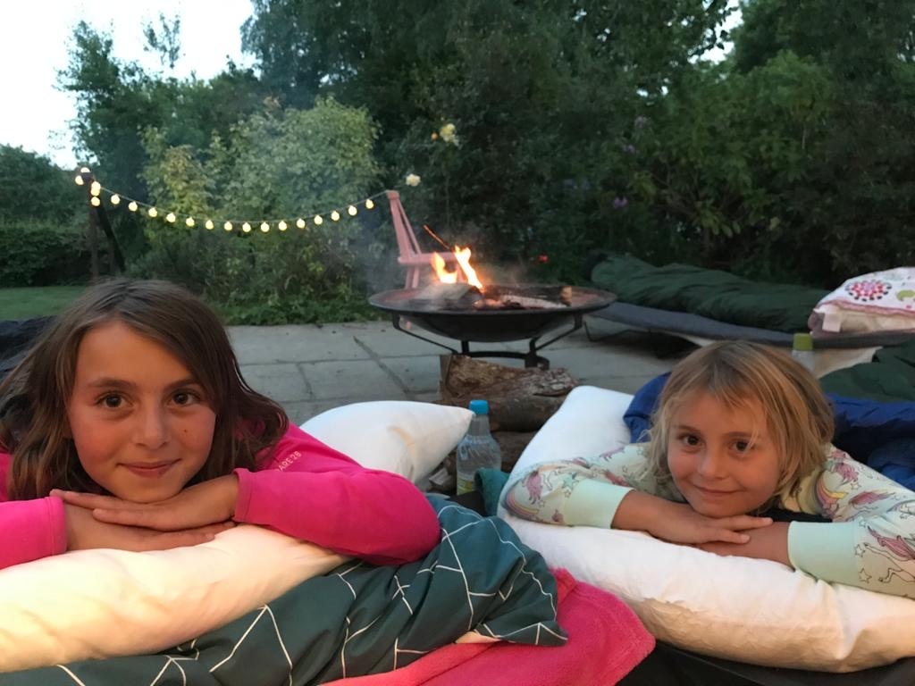 camping at home
