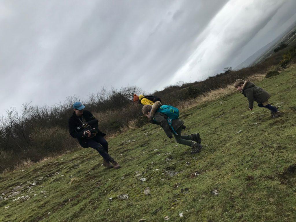 climbing crook peak