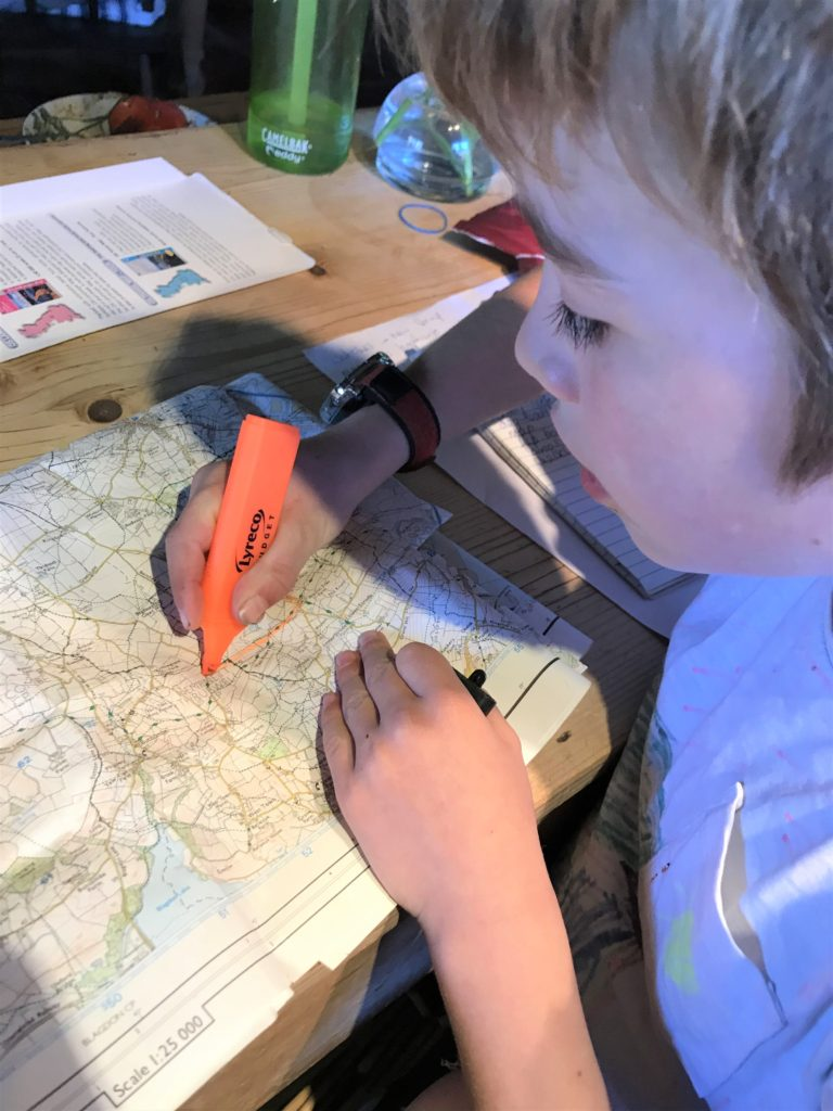 kids map reading