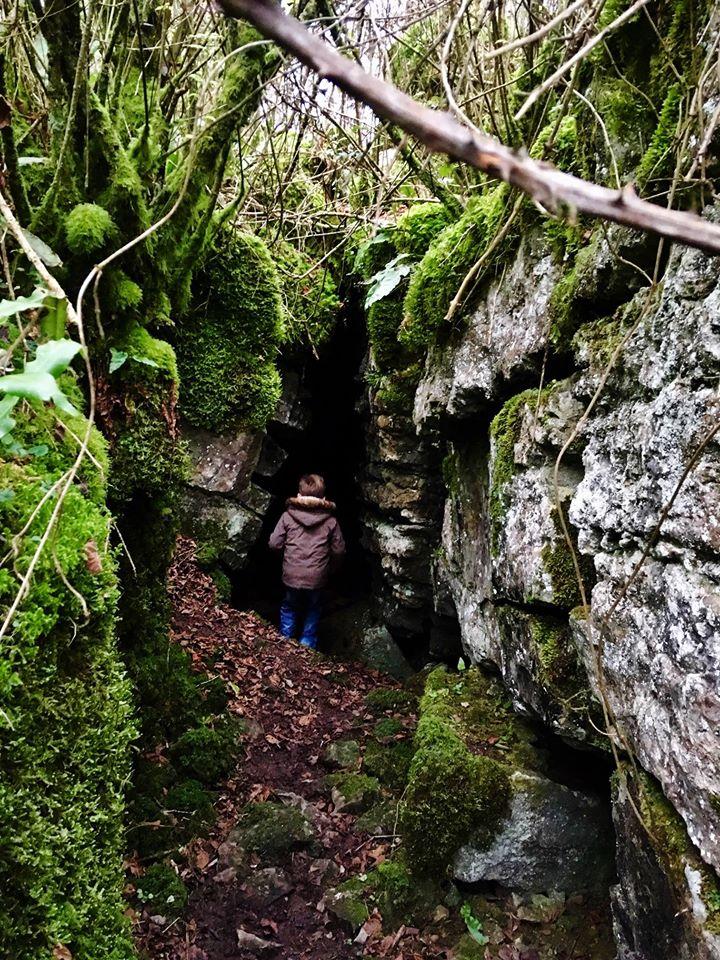 hidden caves, somerset
