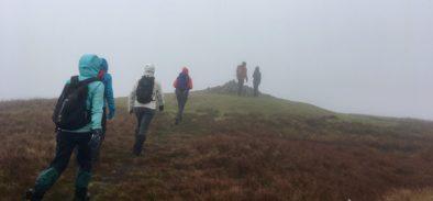 guided mountain walk