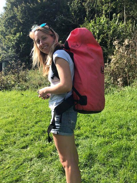 me with my lomo bag