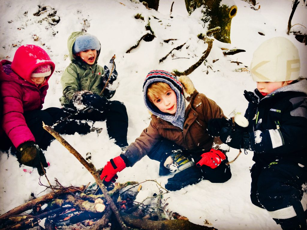 winter outdoor kit for kids