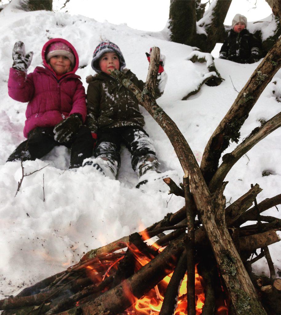fires in winter
