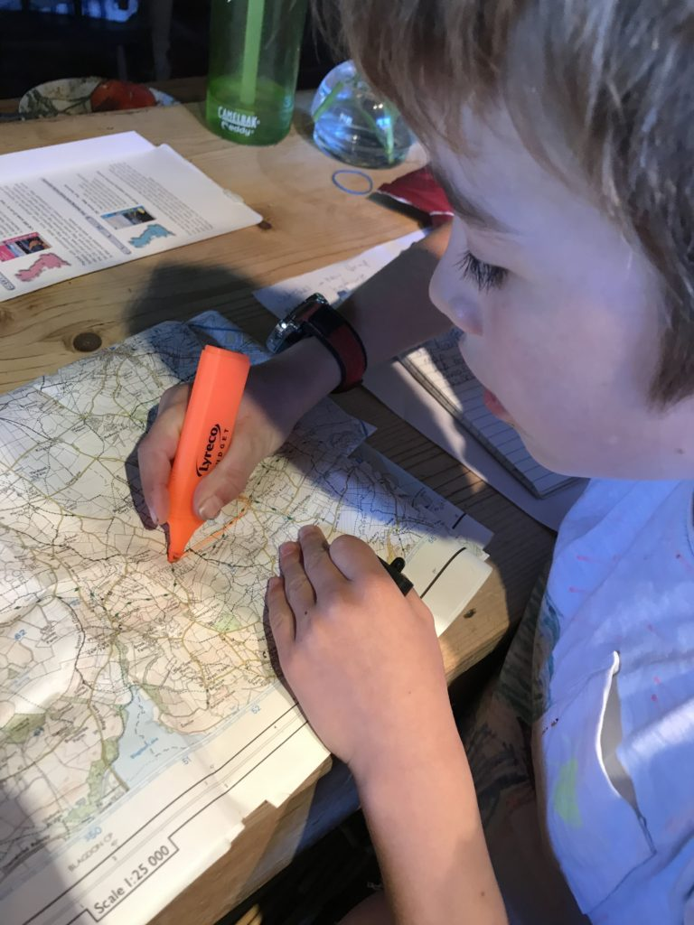 map reading for kids