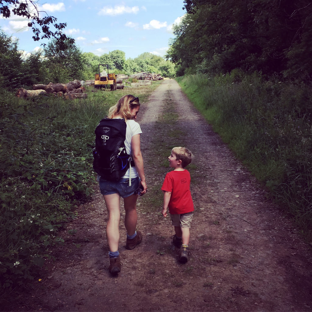 tips for walking with children