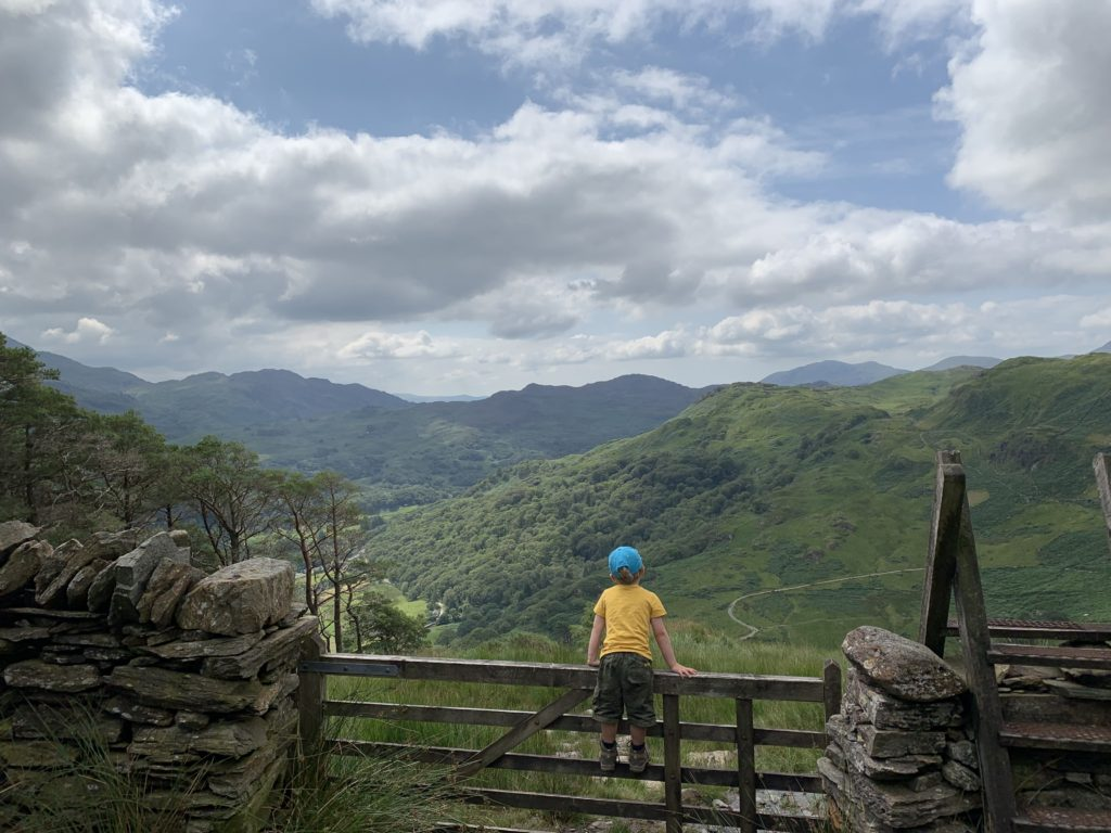 family holiday in snowdonia