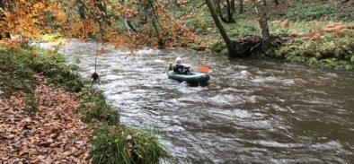 kayaking river dart