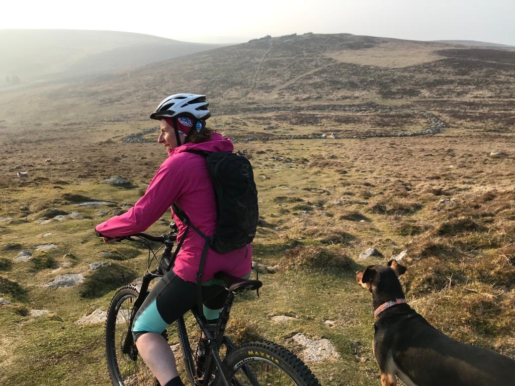 mountain biking dartmoor