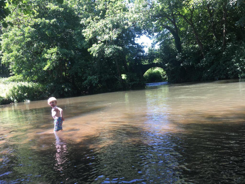 wild swimming somerset