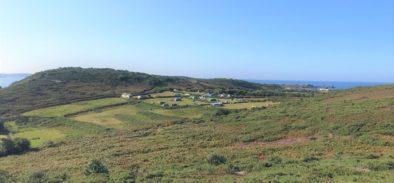bryher island campsite